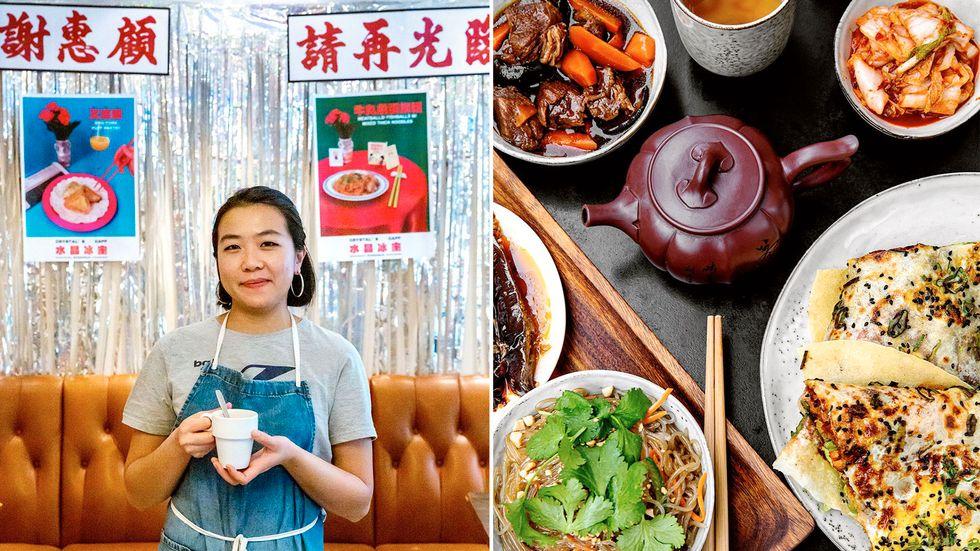 Crystal Chung som öppnade popuppkrogen Crystal's Caff, och den kinesiska gatumaträtten jianbing på Lao Lao vid Mariatorget.