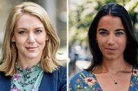 Nordnets och Avanzas sparekonomer Frida Bratt och  Johanna Kull.