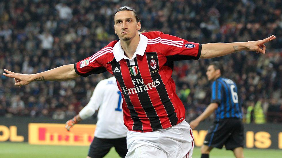 Zlatan Ibrahimovic senast det begav sig i Milan. Bilden är från 2012.