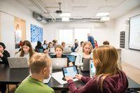 30 forskare kräver i en debattartikel i Dagens Nyheter att grundskolorna ska hållas stängda i ytterligare två till fyra veckor för att minska smittspridningen i samhället. Arkivbild.