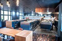 Det öppna köket på enda trestjärniga svenska restaurangen, Frantzén i Stockholm.