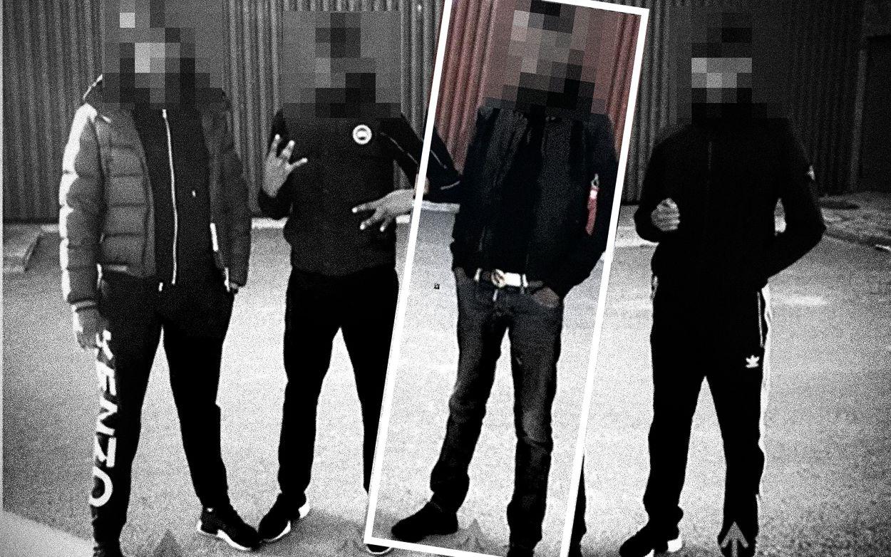 """Ledarskiktet för """"Dödspatrullen"""" från Rinkeby har splittrats. Foto: Polisen. Montage: Henrik Malmsten"""