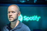 Spotifys vd Daniel Ek.