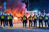 Upploppen i fredags var de värsta i Malmö på flera år.