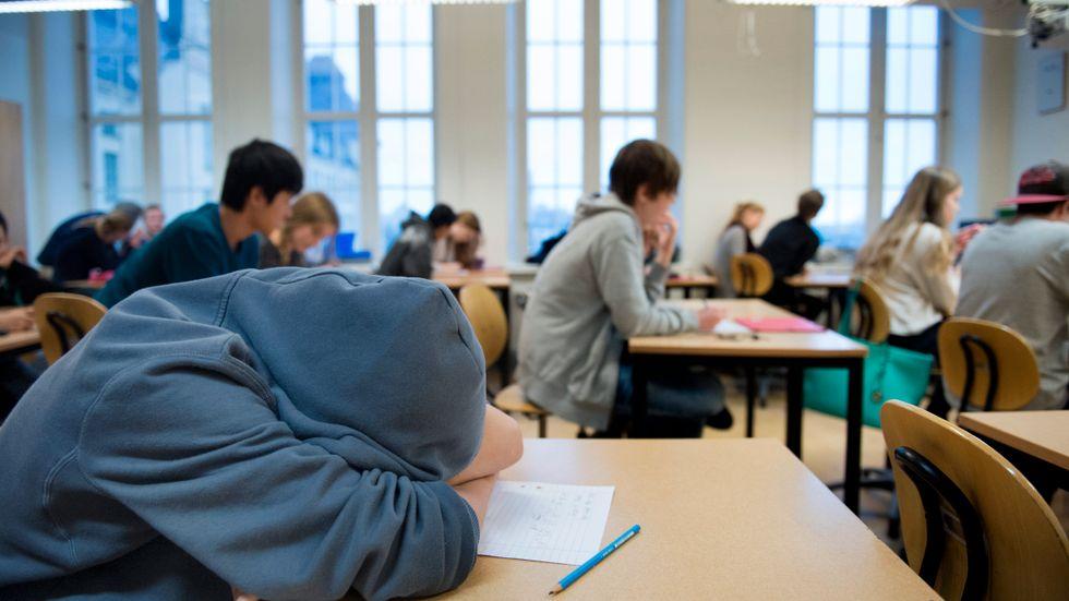 Kan det finnas något i skolmiljön som inverkar på hur mycket adhd-läkemedel som förskrivs? Det ska Socialstyrelsen undersöka närmare. Arkivbild.