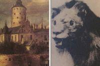 Det sista kungliga lejonet stoppades upp.