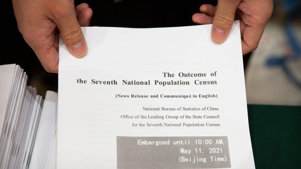 Resultatet av Kinas folkräkning har presenterats.