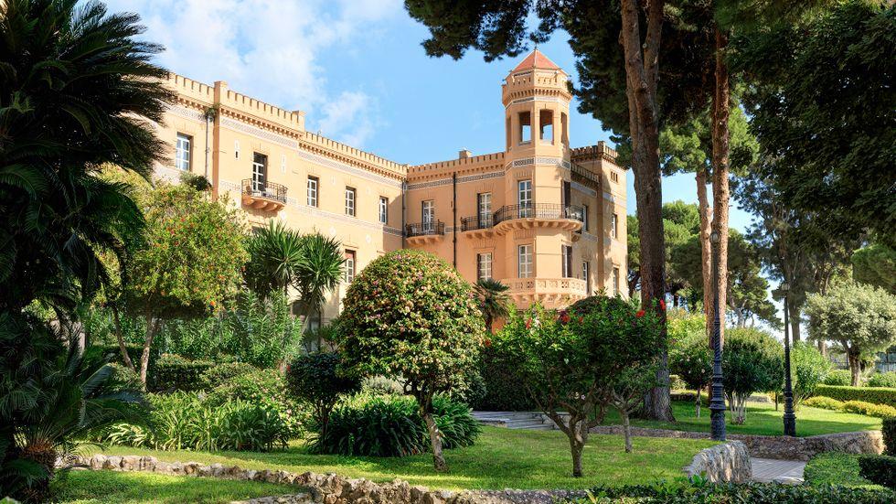 Klassiska  Villa Igiea öppnar igen efter en större renovering.