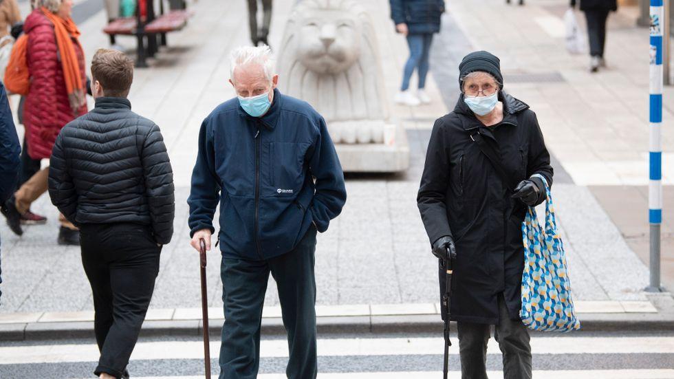 Stockholmspensionärer tappar mest i förhållande till sin slutlön, enligt Forena. Arkivbild.