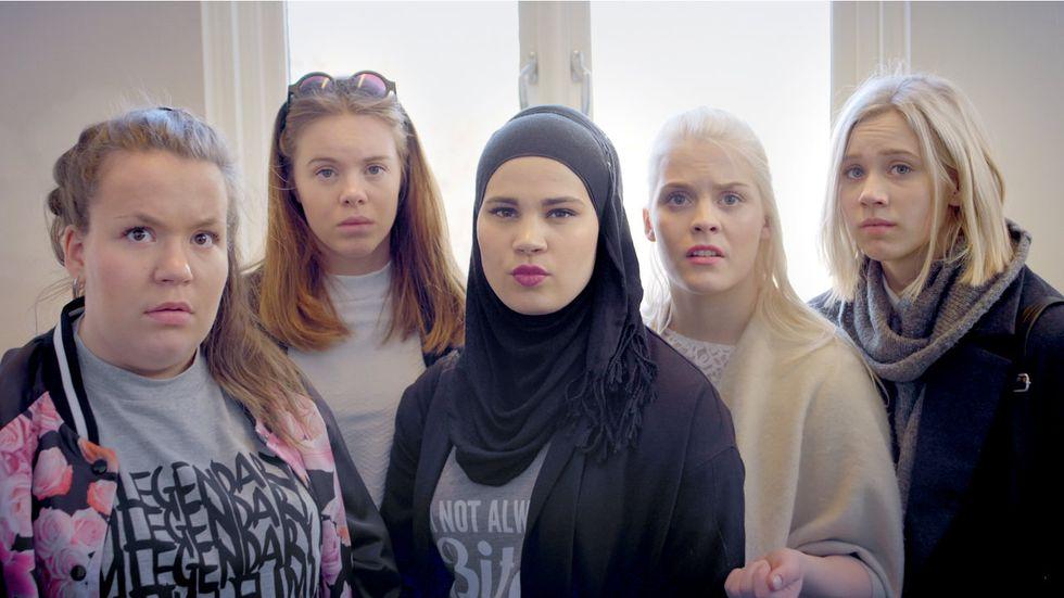 """Att kunna lite norska kan vara ett sätt att visa att man gillar tv-serien """"Skam""""."""