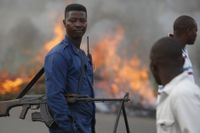 Oroligheterna i Burundis huvudstad Bujumbura fortsätter.