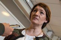 LO:s ordförande Susanna Gideonsson varnar för konflikt på arbetsmarknaden om LO ställs åt sidan. Arkivbild.
