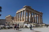 Akropolis i Aten, där flera viktiga monument dateras till 400-talet före Kristus.
