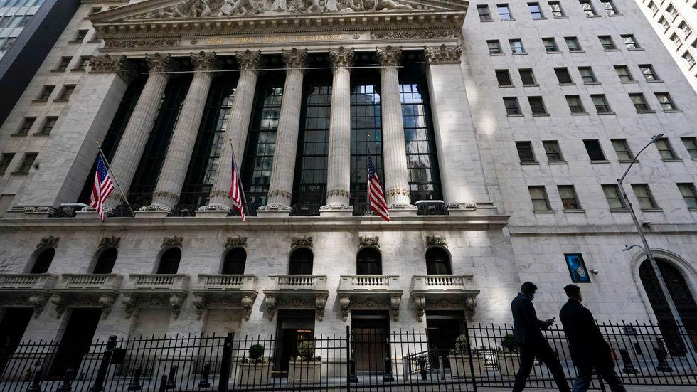 Bred uppgång bland de amerikanska aktierna. Arkivbild.