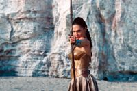 Gal Gadot som Wonder Woman.
