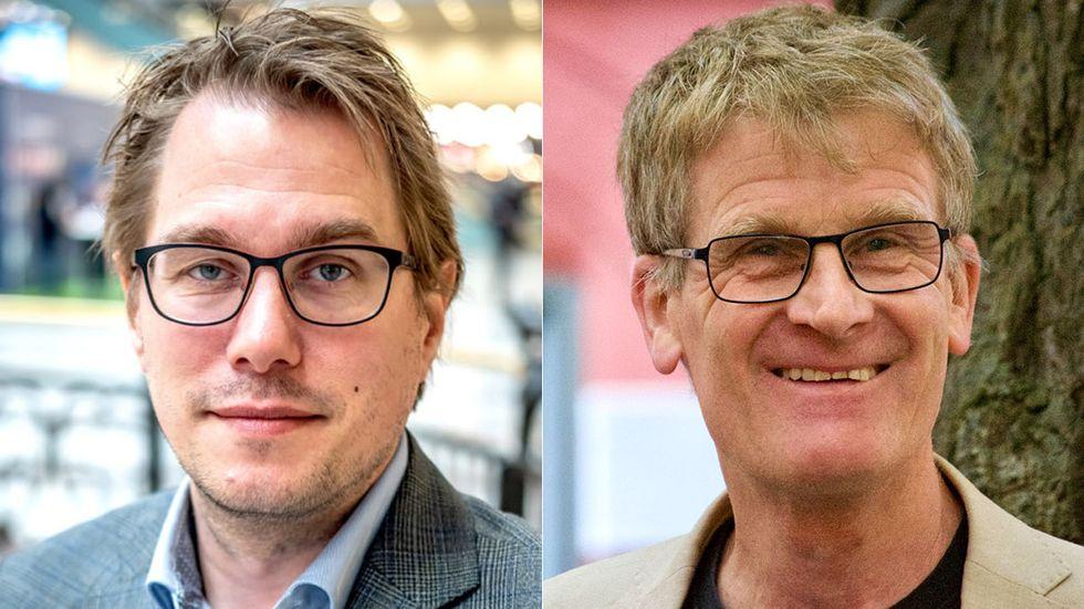 Peter Moilanen och Pelle Olsson.