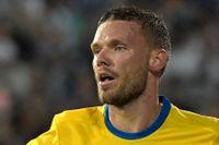 Marcus Berg, en av tio svenska målskyttar hittills i VM-kvalet. Arkivbild.