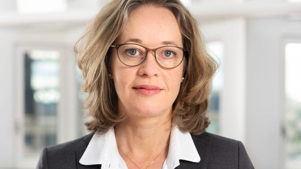 Christina Wejshammar, chef för avdelningen för betalningar på Riksbanken.