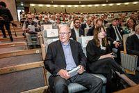 Göran Persson på Swedbanks stämma.
