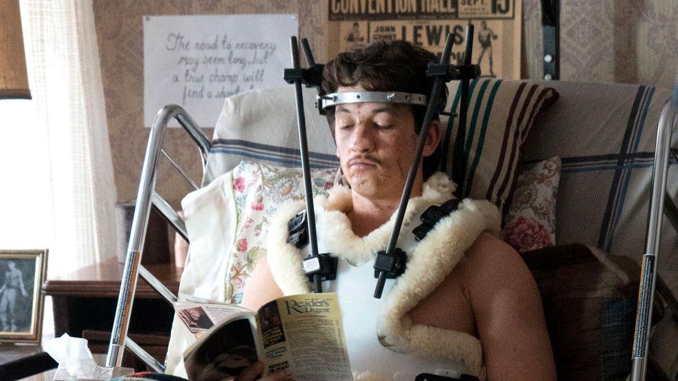 Pazienza bröt nacken och fick beskedet att han i bästa fall skulle kunna gå igen, men aldrig boxas.