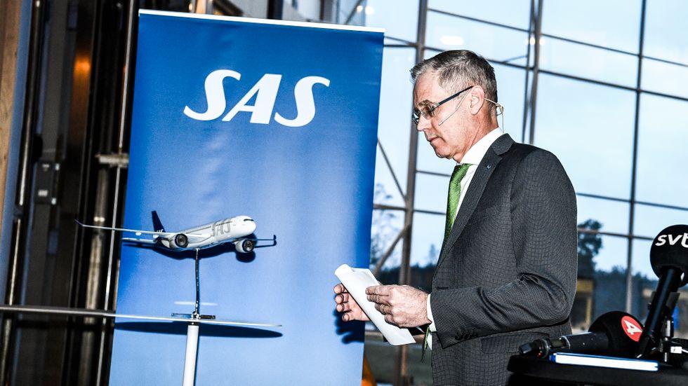 SAS avgående vd Rickard Gustafson.