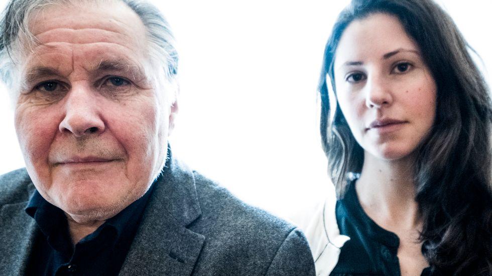 Hugo Lagercrantz, professor i barnmedicin vid Karolinska Institutet, intervjuas av ledarsidans Paulina Neuding.