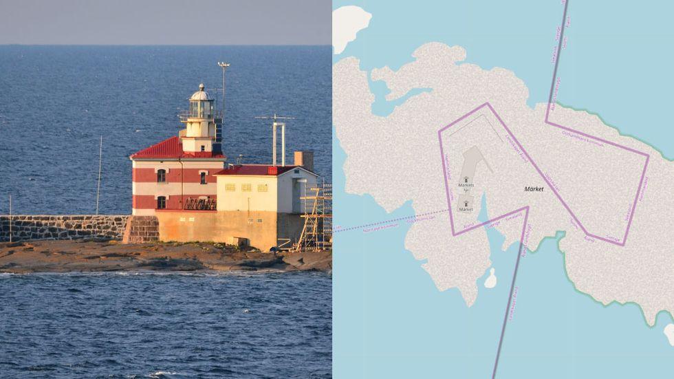 På Märket möts Finland och Sverige – men även kommunerna Östhammar, Norrtälje och Hammarland.