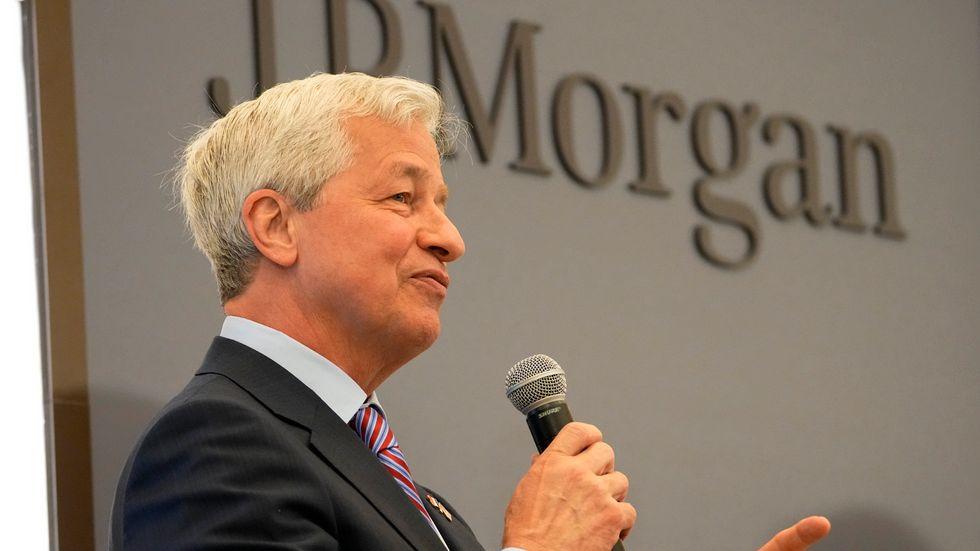 Jamie Dimon, vd på JP Morgan. Arkivbild.