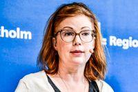 Anna Starbrink (L), hälso- och sjukvårdsregionråd i Region Stockholm säger att politikerna ska avgöra 1177-affären.