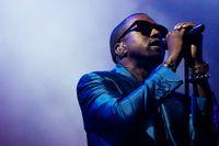 Musikern Kanye West
