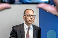 """""""Hela bankindustrin är under förändring"""", säger Nordeas koncernchef Frank Vang-Jensen."""