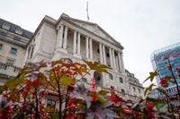 Brittiska centralbanken fortsätter på sitt spår. Arkivbild.
