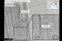 Satellitbilder sägs visa rysk trupp i Ukraina