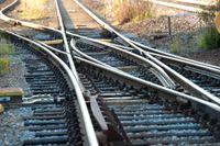 """Det soliga och varma vädret gör att järnvägsrälsen riskerar att """"bli som en orm"""", enligt Trafikverket. Arkivbild."""