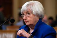 USA:s regering, med finansminister Janet Yellen, öppnar dörren för global uppgörelse om digital skatt. Arkivbild