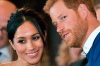 Meghan Markle med sin fästman prins Harry. Pengamaskin är bara förnamnet när prins Harry gifter sig med Meghan Markle på lördag.