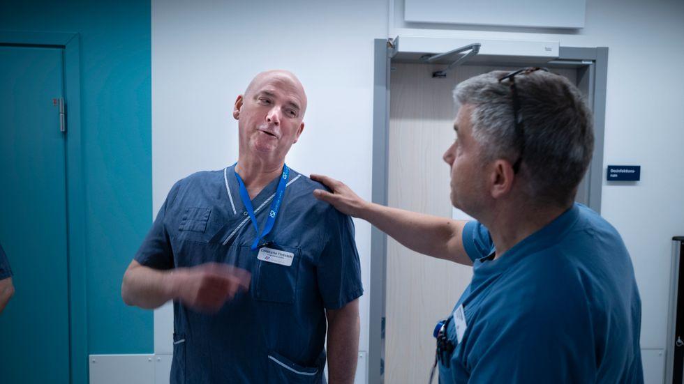 Christophe Pedroletti, sjukhusets vd, gav Håkan Kalzén, verksamhetschef för anestesin, fria händer att gasa.