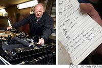Christer Malm erkänner att han är pedant när han renoverar gamla Cadillacbilar. Hans regel lyder: En Cadillac Eldorado från 1960 ska bli exakt så som den var när den rullade av monteringsbandet i Cadillacs fabrik på Clark Avenue i Detroit för 47 år sedan.