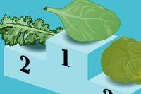 Lista: De bästa – och mest meningslösa – grönsakerna