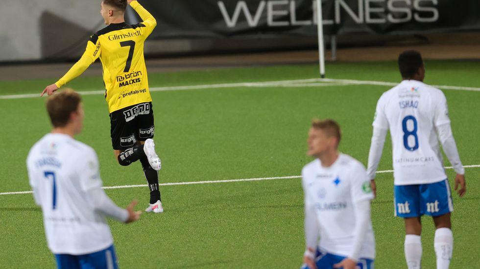 Norrköping rasade ihop mot Häcken