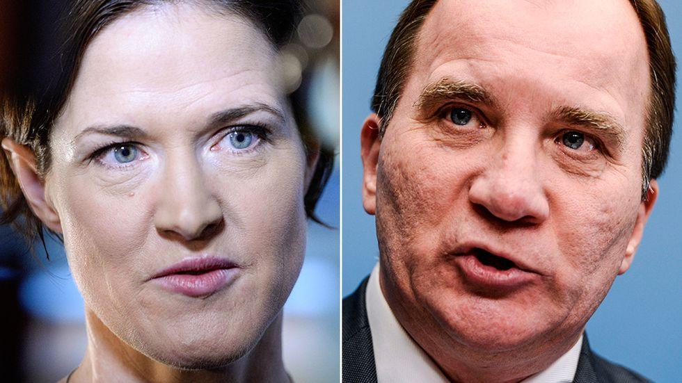 Anna Kinberg Batra (M) kommer göra upp med Stefan Löfven (S) om statsministerposten.