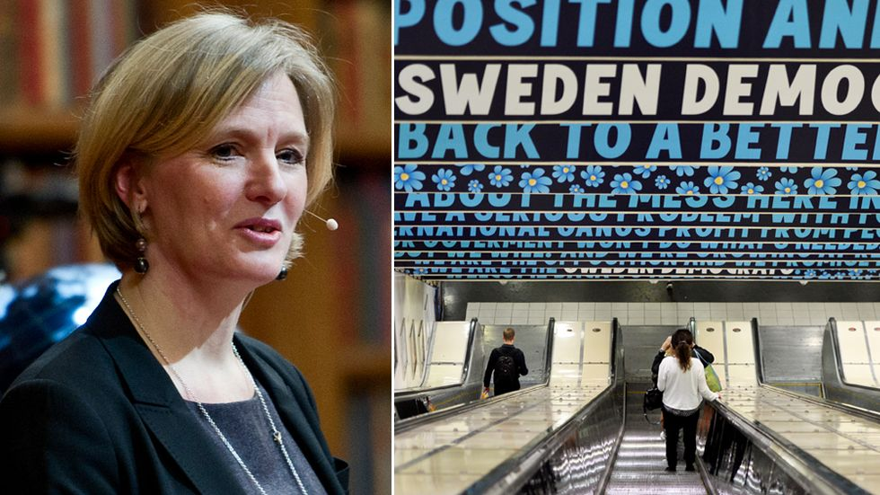 Stockholms Stadsmissions Marika Markovits om SD:s aggressiva anti-tiggerikampanj.