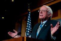 Vermontsenatorn Bernie Sanders vill bli USA:s näste president. Arkivbild.