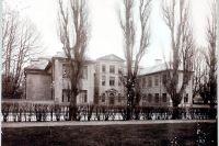 Spökslottet år 1910.