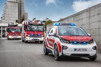BMW i3 används bland annat inom räddningstjänsten i Tyskland.