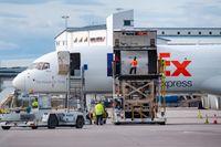 Flygorganisationen IATA tror på flygfrakten. Arkivbild.