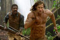 """Samuel L. Jackson och Alexander Skarsgård i """"Legenden om Tarzan."""""""