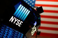 Bilden är från New York-börsens handelsgolv. Arkivbild.