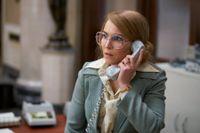 """Noomi Rapace spelar bankkassörskan Bianca i nya """"Stockholm"""" som har premiär den 5 juli. Pressbild."""