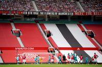Manchester United spelar inför tomma läktare mot Bournemouth. Arkivbild.